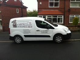 locksmiths Leeds Van